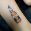 Corona Beer Tattoo