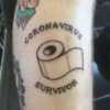 Coronavirus Survivor Tattoo